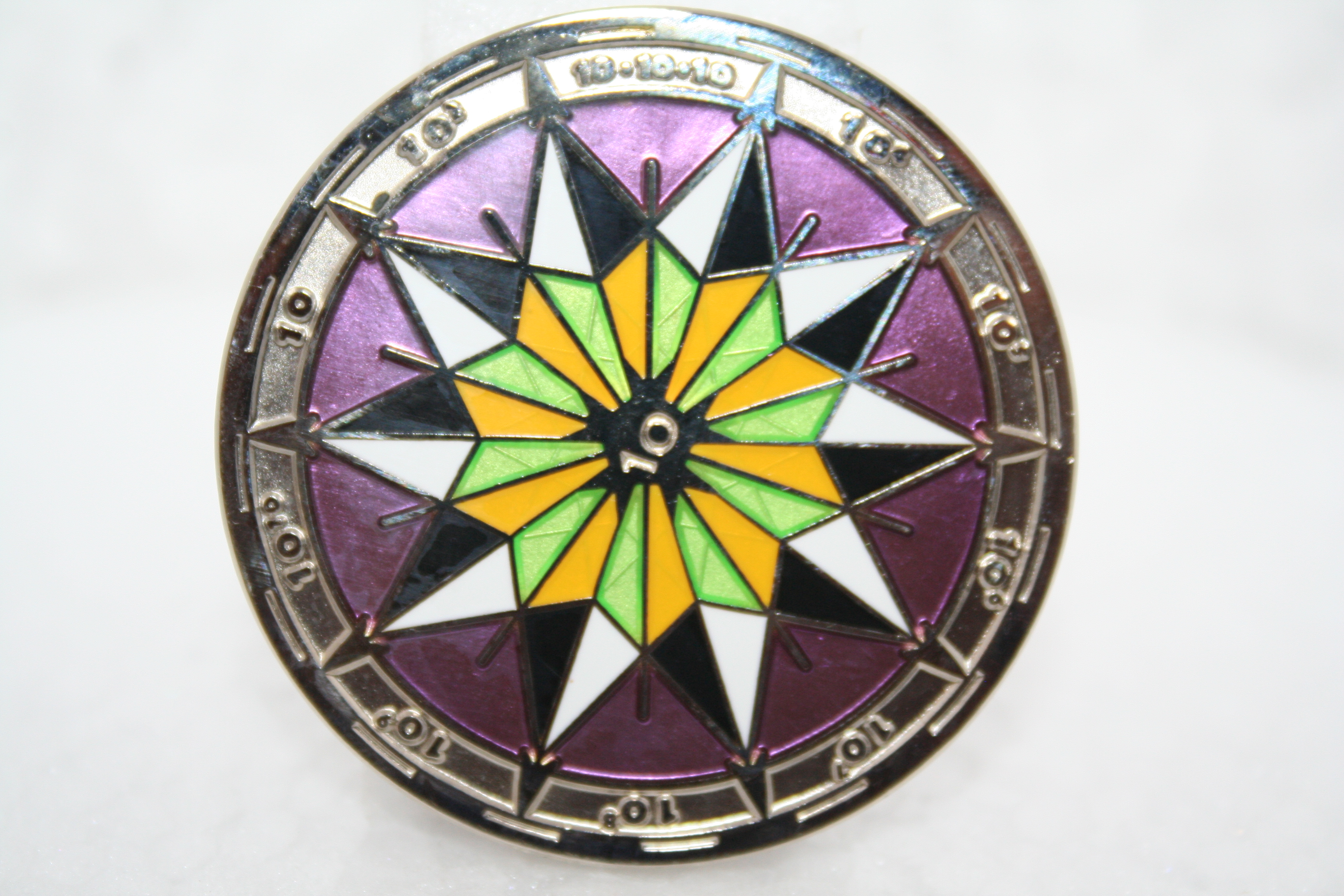 10 10 10 Powers of Ten Multi Event Geocoins - Czech republic