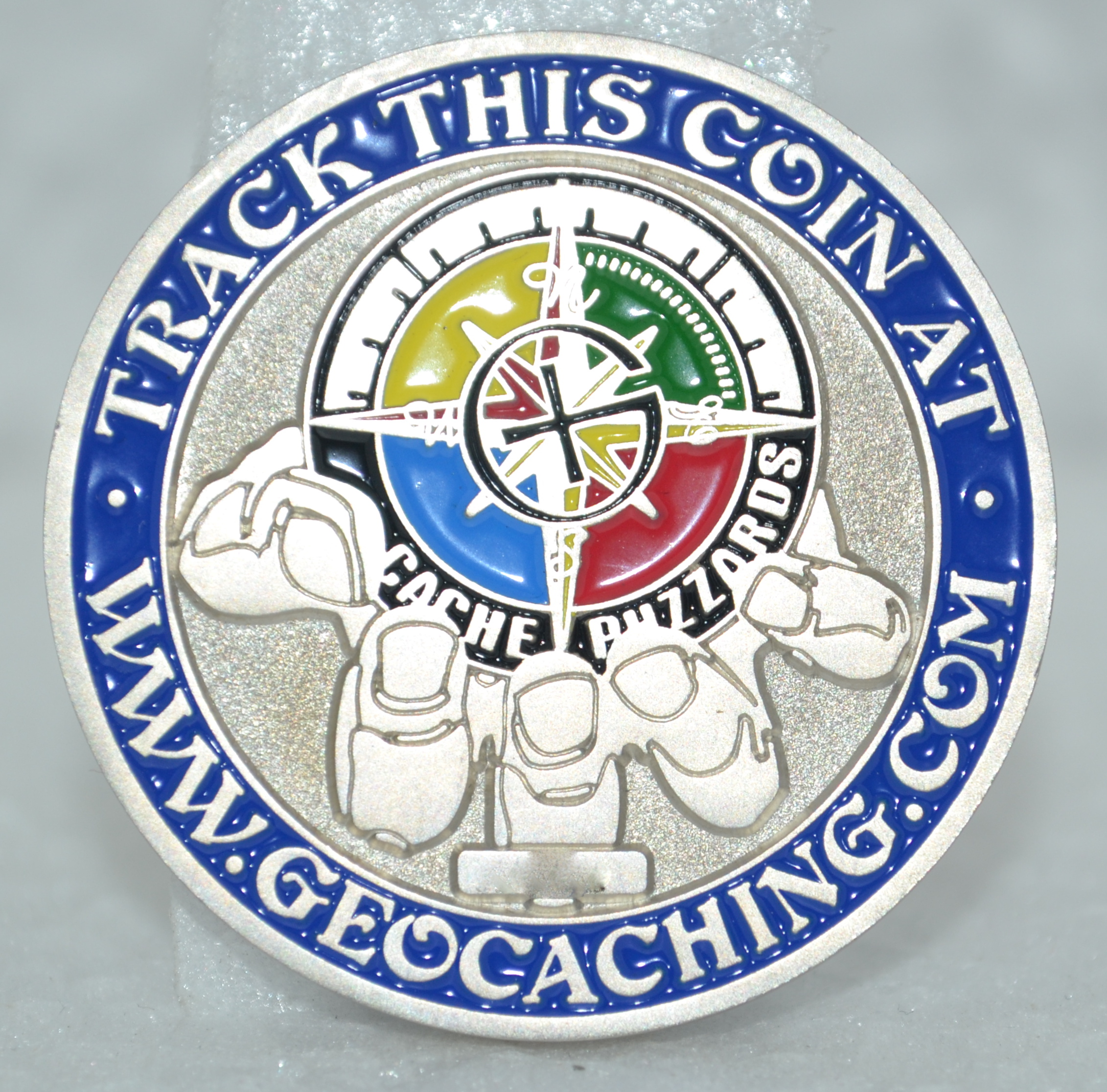 Cache Buzzards Geocoin