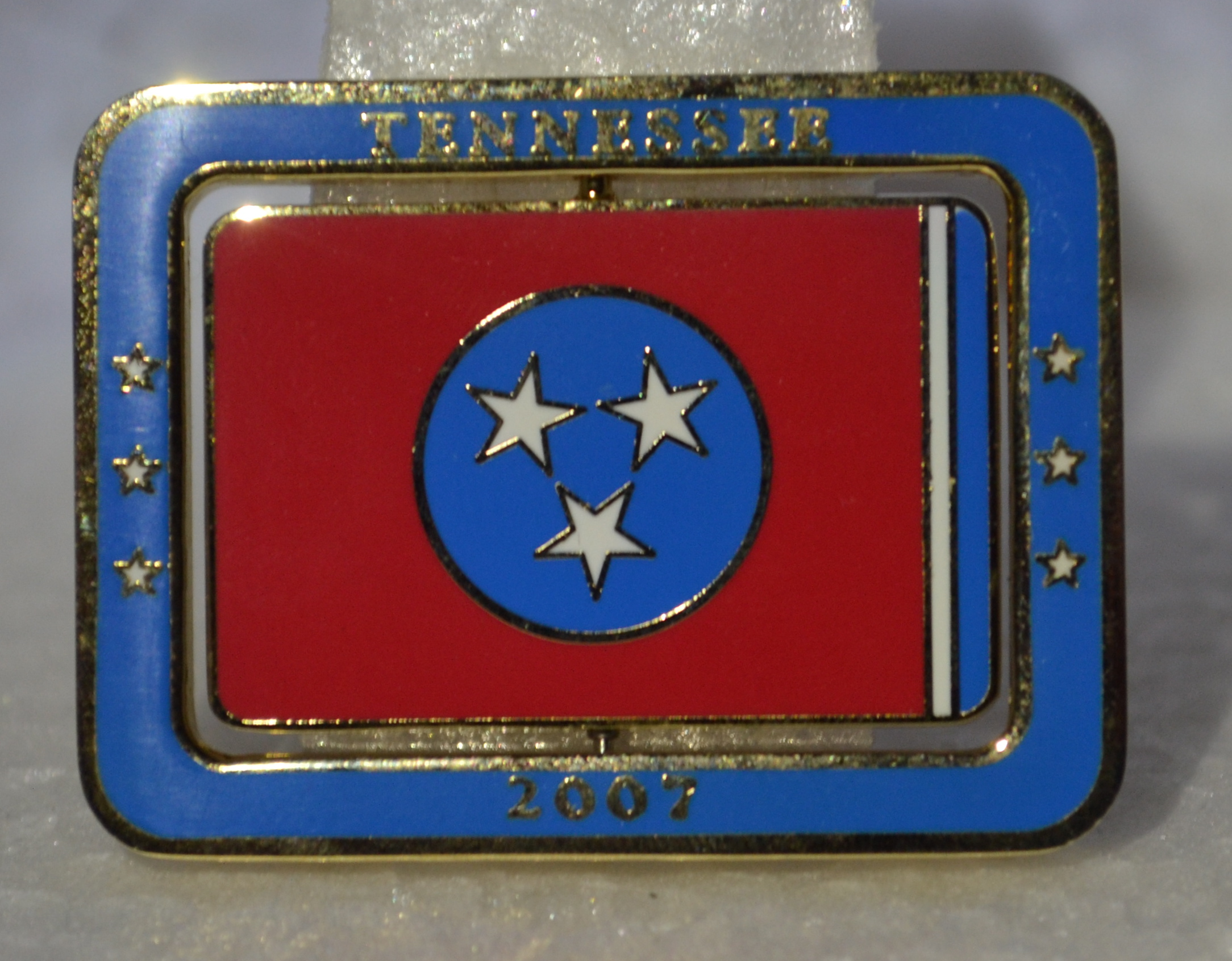 Tennessee Spinning Geocoin