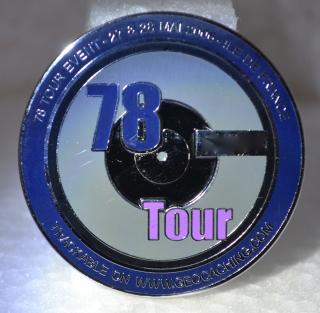 78 Tour - Ile De France Geocoin