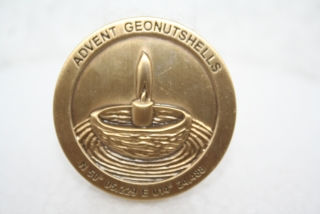 Advent Geonutshells 2010 Geocoin